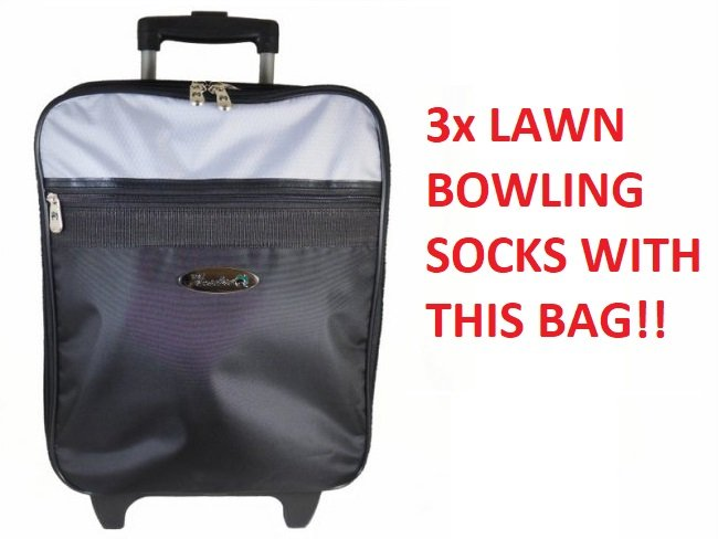 Henselite lawn Bowling Trolley Bag. Free Delivery.