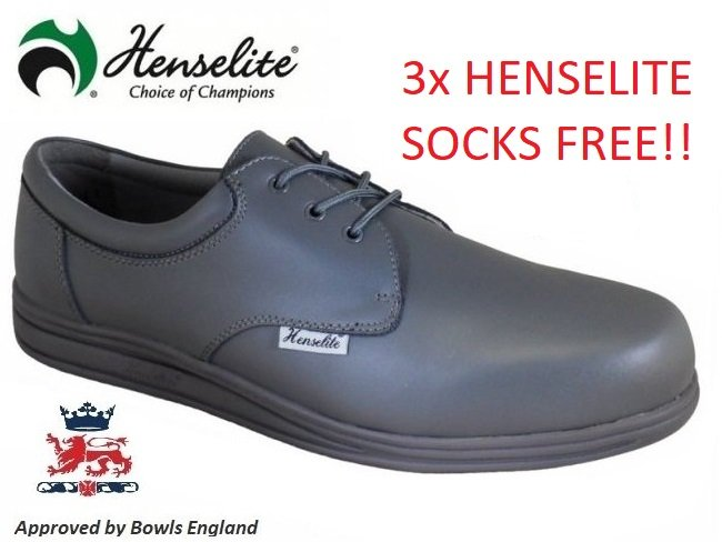Henselite Victory Lawn Bowls Shoes. 10.5 ONLY
