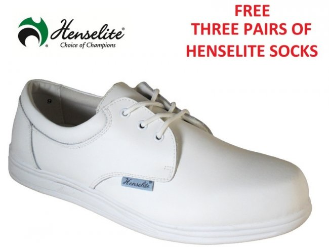 Victory Leather Shoe & FREE Henselite Socks 6 & 10