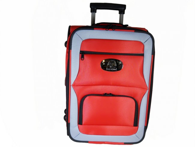 Prohawk Argyle Trolley Lawn Bowling Bag Red/Grey
