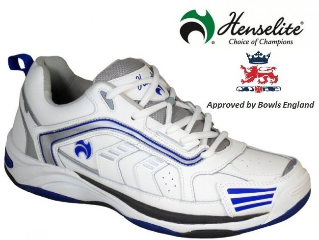 Henselite MPS44 Lawn Bowls Shoes. Size 6 ONLY
