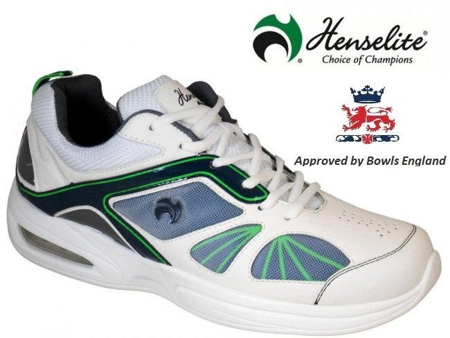Henselite Tiger Sports42 Lawn Bowls Shoe. Size 6