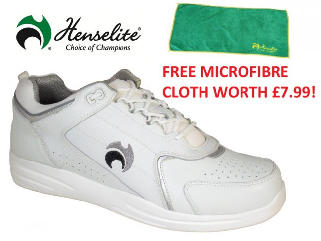 Pro Sports Lace Shoe & FREE Microfibre Cloth SIZE 13