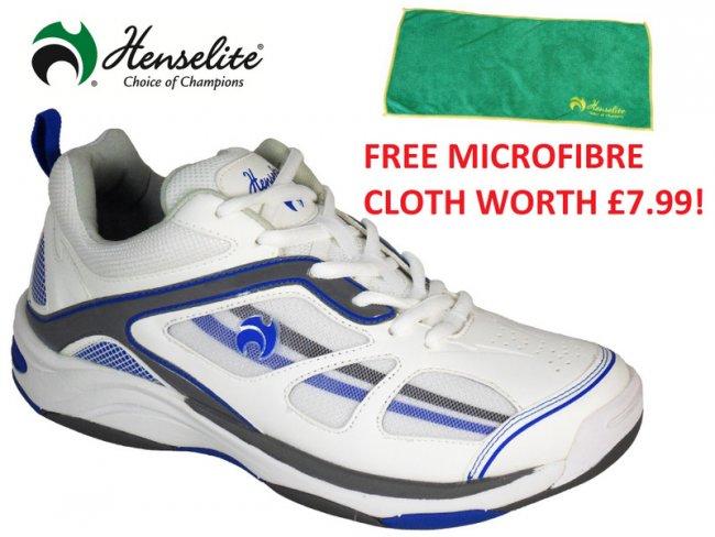 MPS40 Lawn Bowls Shoe & FREE Microfibre SIZE 5