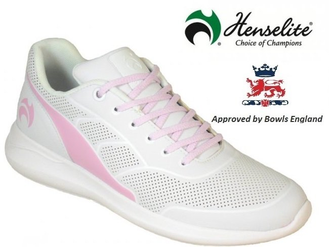 Henselite HL74 Ladies Lawn Bowling Shoes.