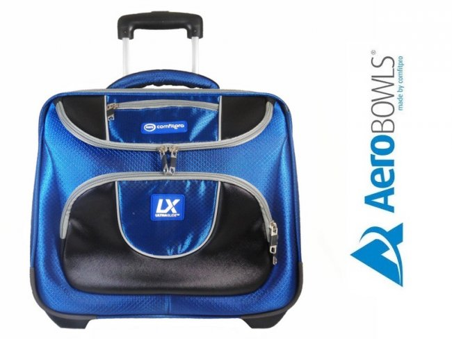ComfitPro LX Lawn Bowls Trolley Bag Blue