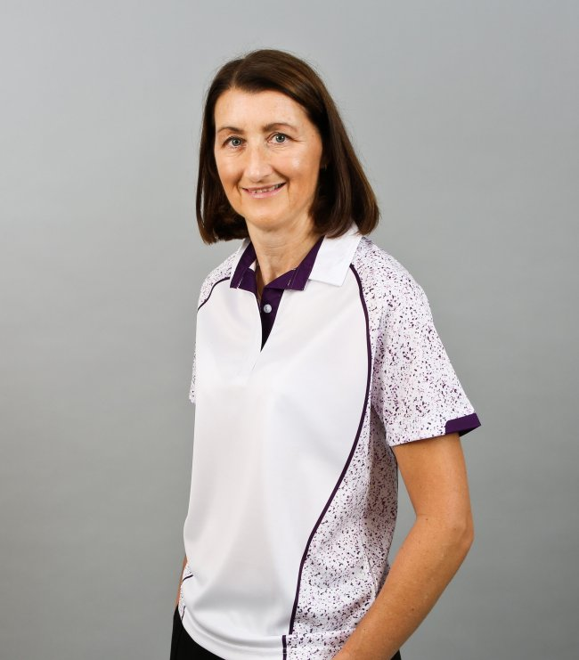 Henselite Lawn Bowling Sublimated - white, purple