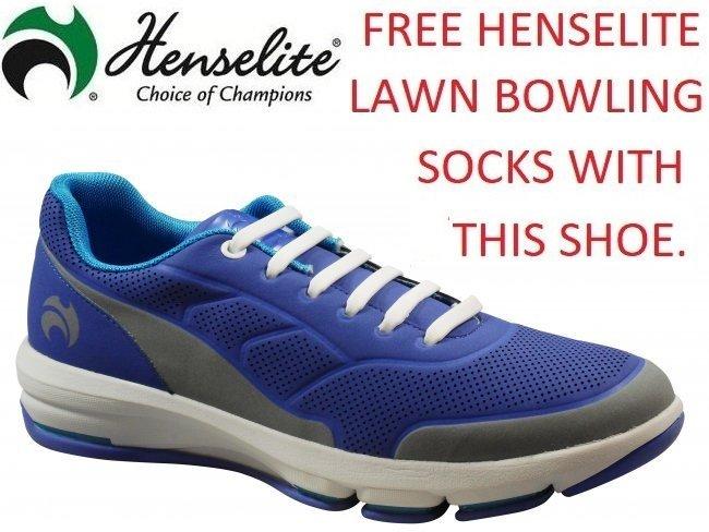 Henselite Mens HM75 Lawn Bowling Shoe.