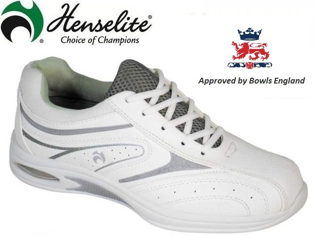 Henselite Ladies Tiger Lawn Bowls Shoe. Size 5
