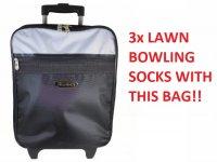 Henselite lawn Bowling Trolley Bag. Free Delivery.
