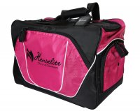 Henselite Professional Sport Lawn Bowls Bag Pink and Black