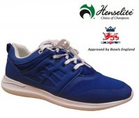 Henselite HM74 Metro Lawn Bowling Shoes. Blue