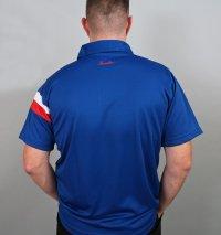 Henselite Britannia Lawn Bowling Polo in Blue.  NEW PRODUCT!!!
