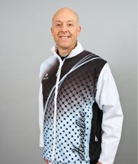 Henselite Lawn Bowling All-in-One Jacket Sky-Blue