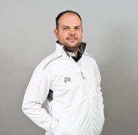 Henselite Lawn Bowling Full Zip Fleece Jacket - Grey Trim