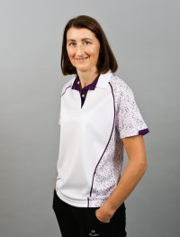Henselite Lawn Bowling Sublimated - white, purple
